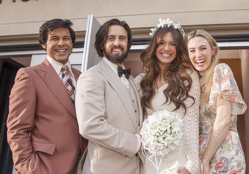 <p>'This Is Us' Wedding</p>