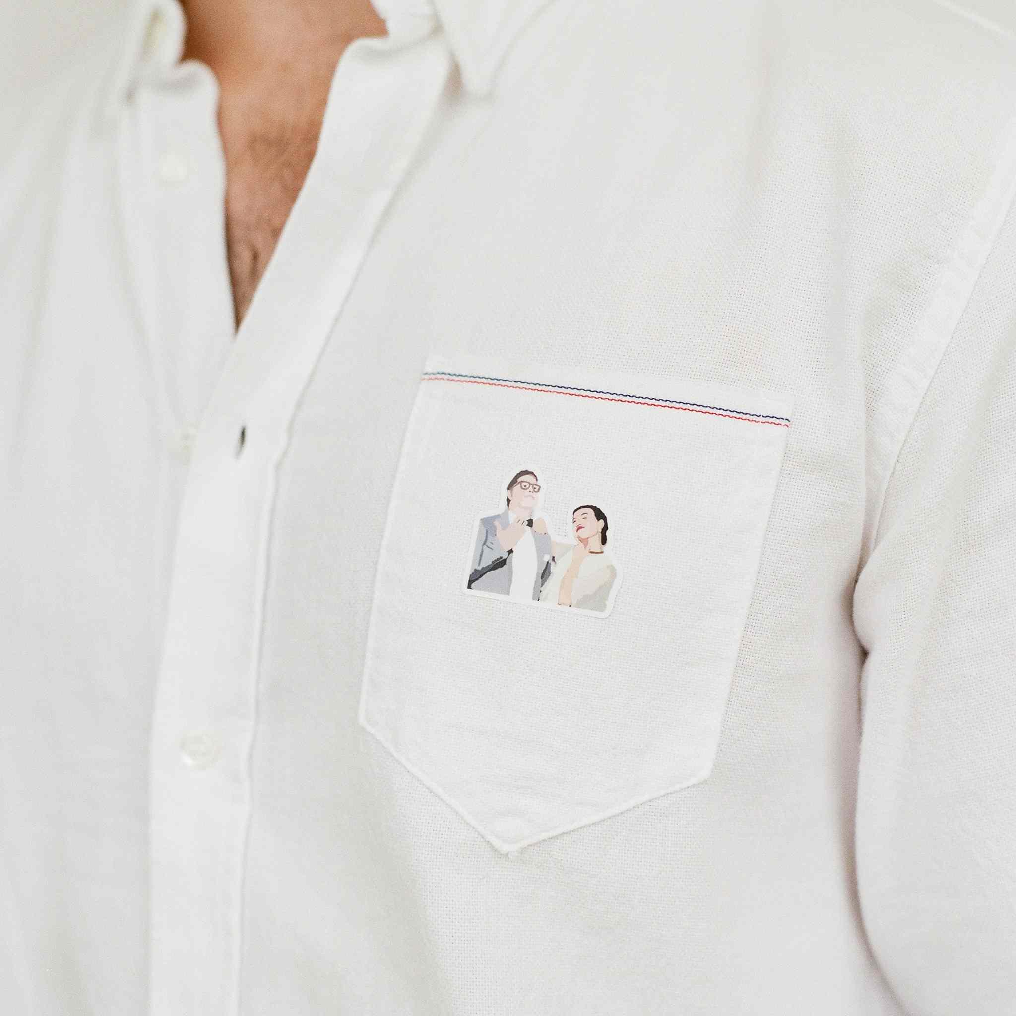 Personalized dress shirt
