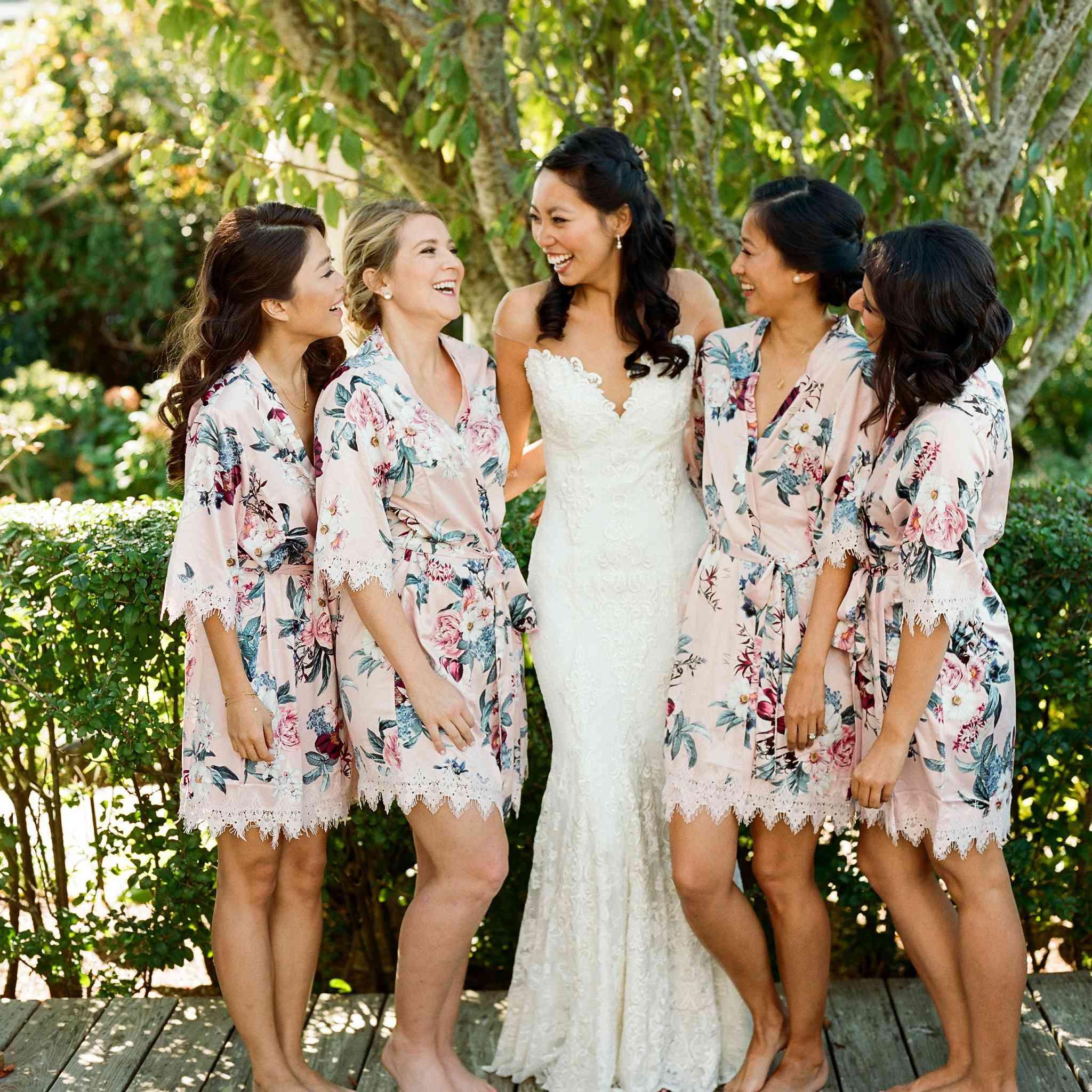 <p>bridesmaids robes</p><br><br>