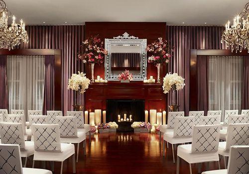 Wedding ceremony on Clift Hotel