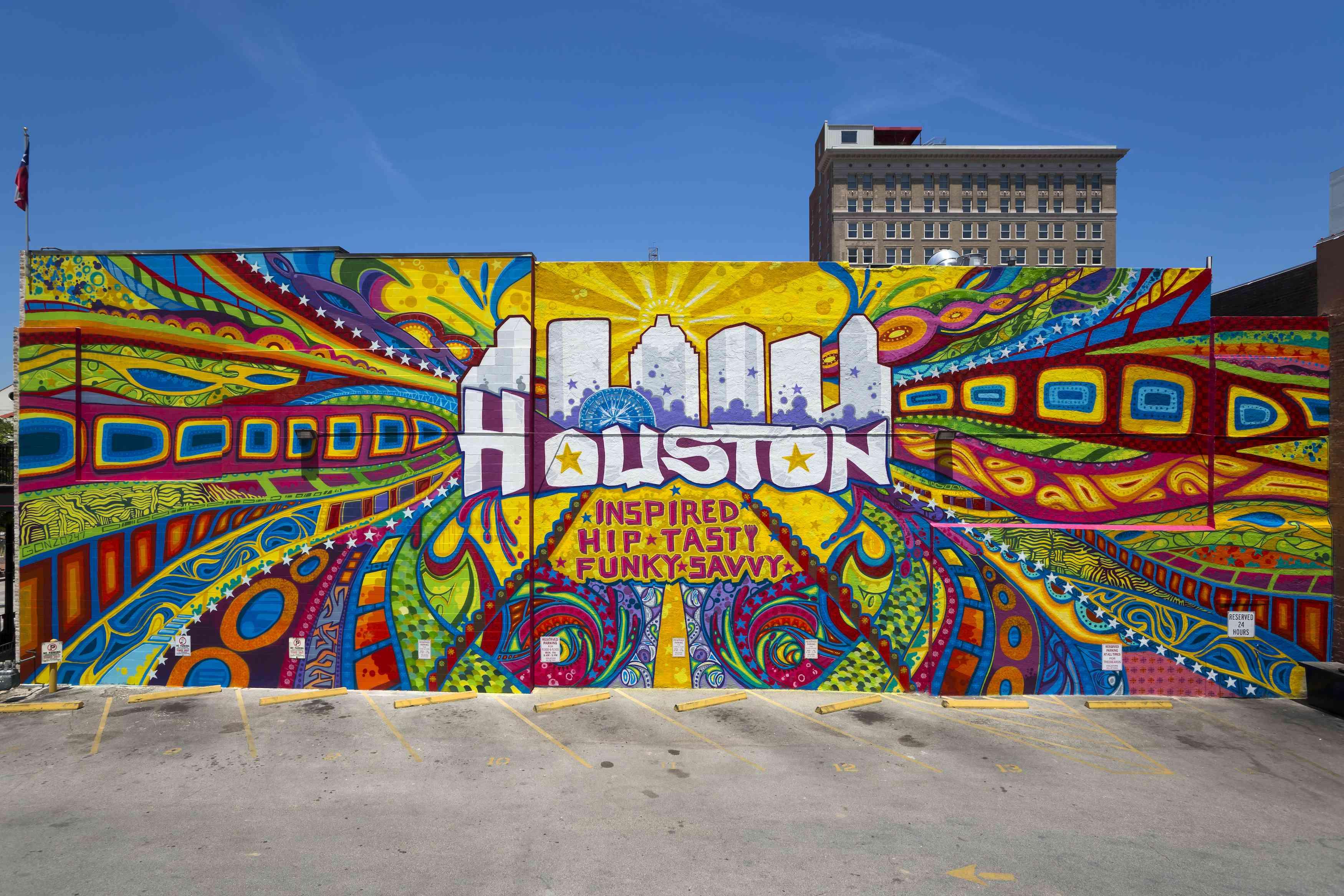 Houston Inspired street art