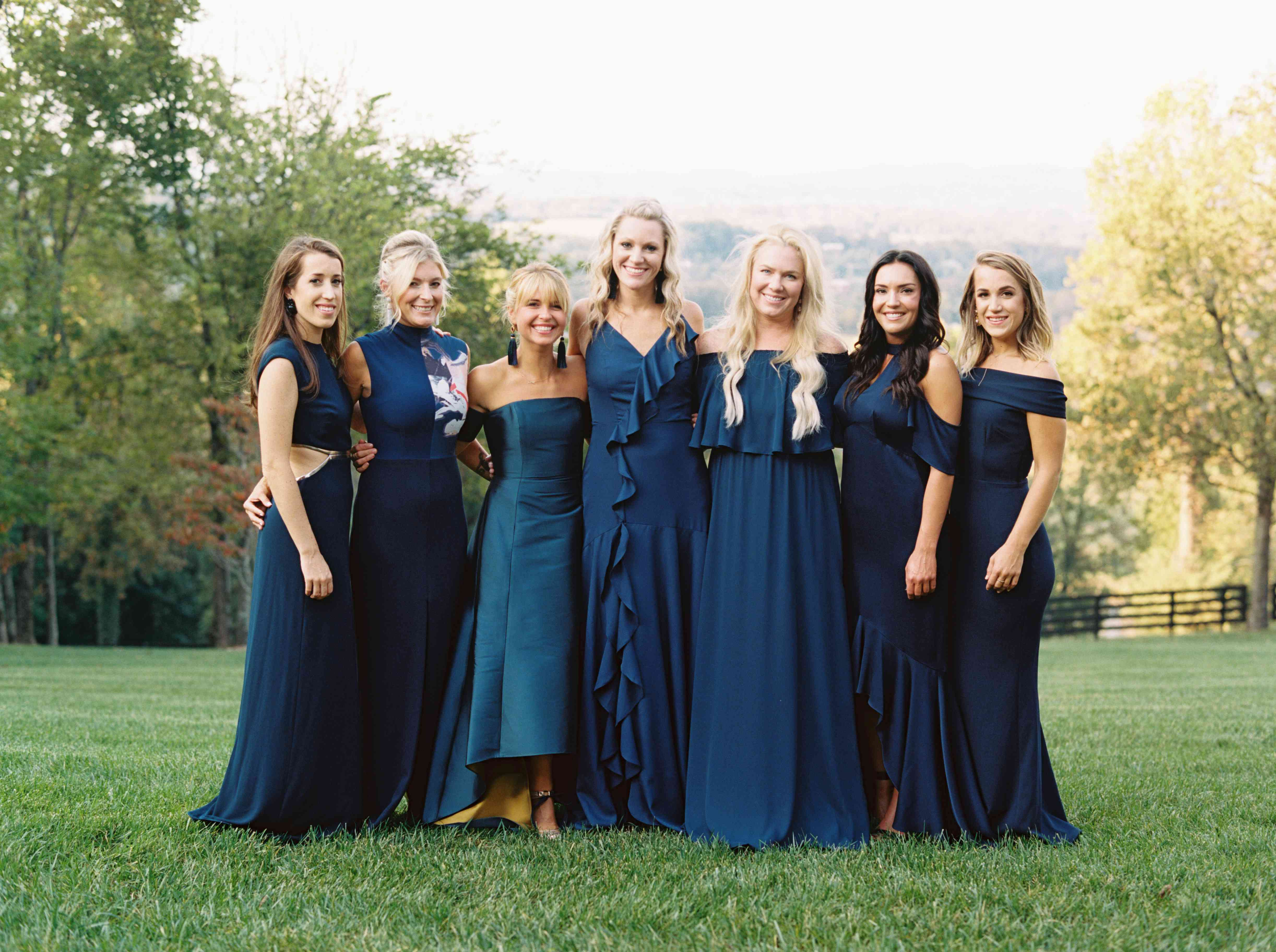 The Biggest Bridesmaid Dress Colors For Fall