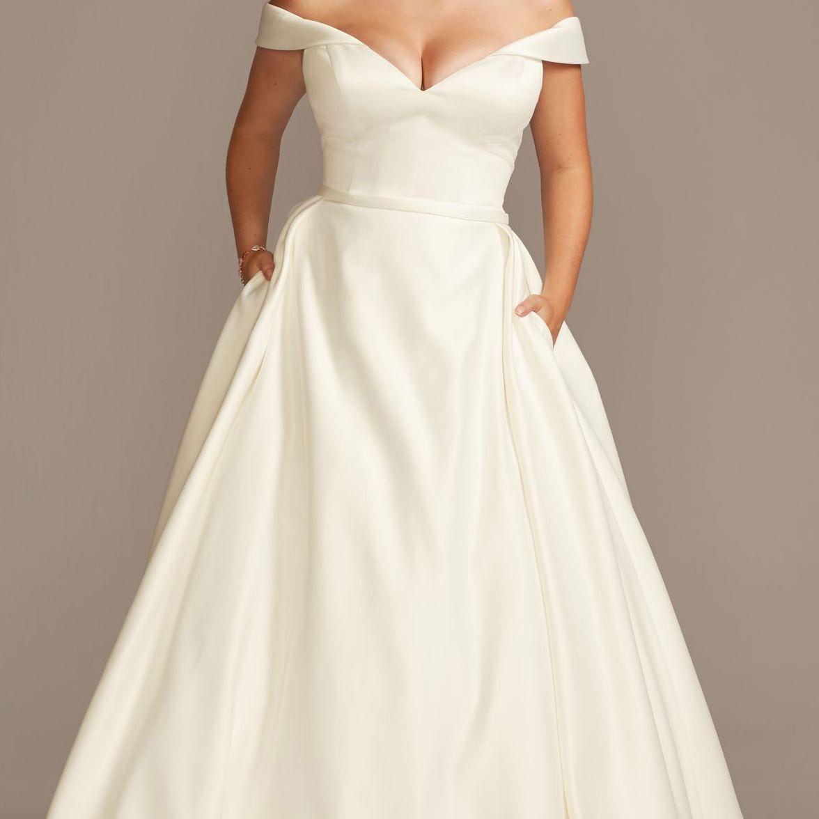 The 27 Best Plus Size Wedding Dresses Of 2020,Short Royal Blue Dress For Wedding Guest