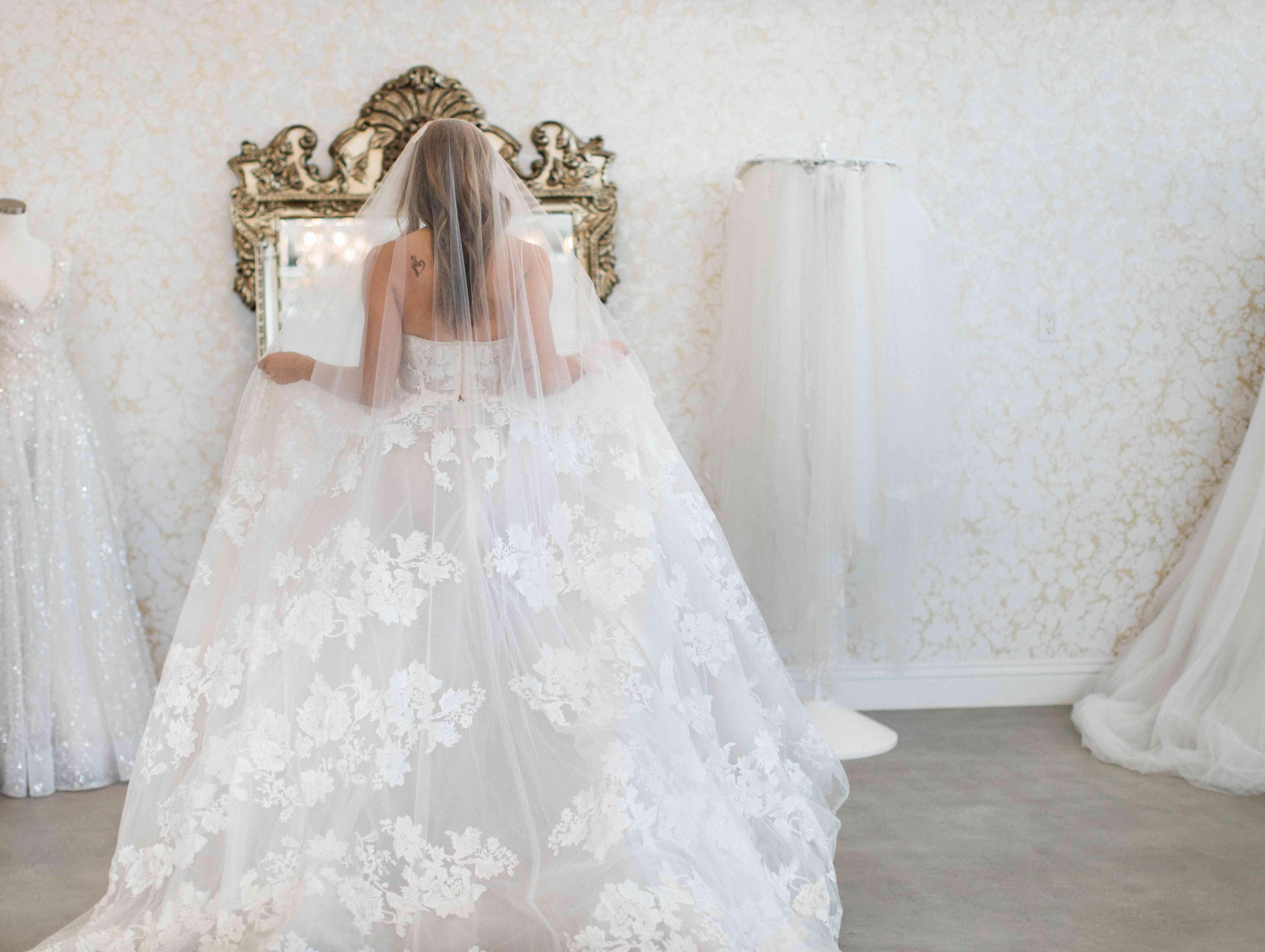 jenna ushkowtiz dress shopping