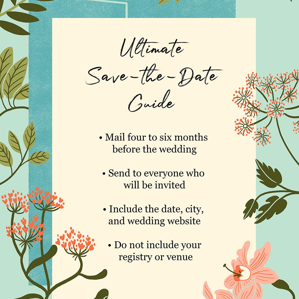 Save The Date Etiquette You Need To Know