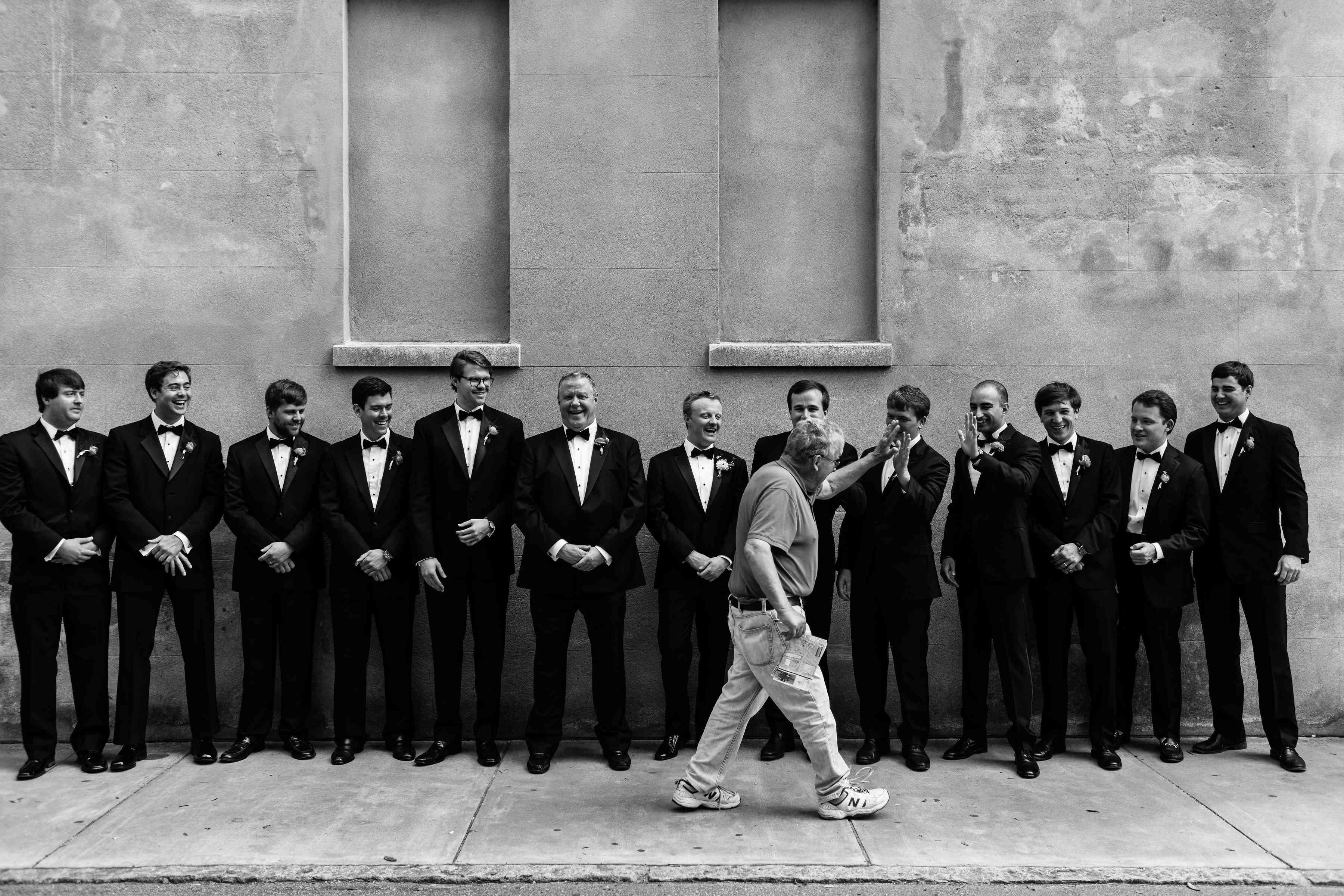 wedding groomsmen tuxedos