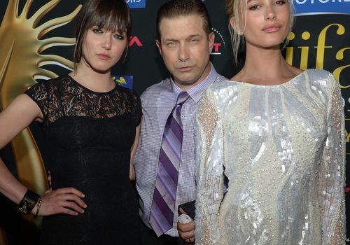 Alaia Baldwin, Stephen Baldwin, and Hailey Baldwin