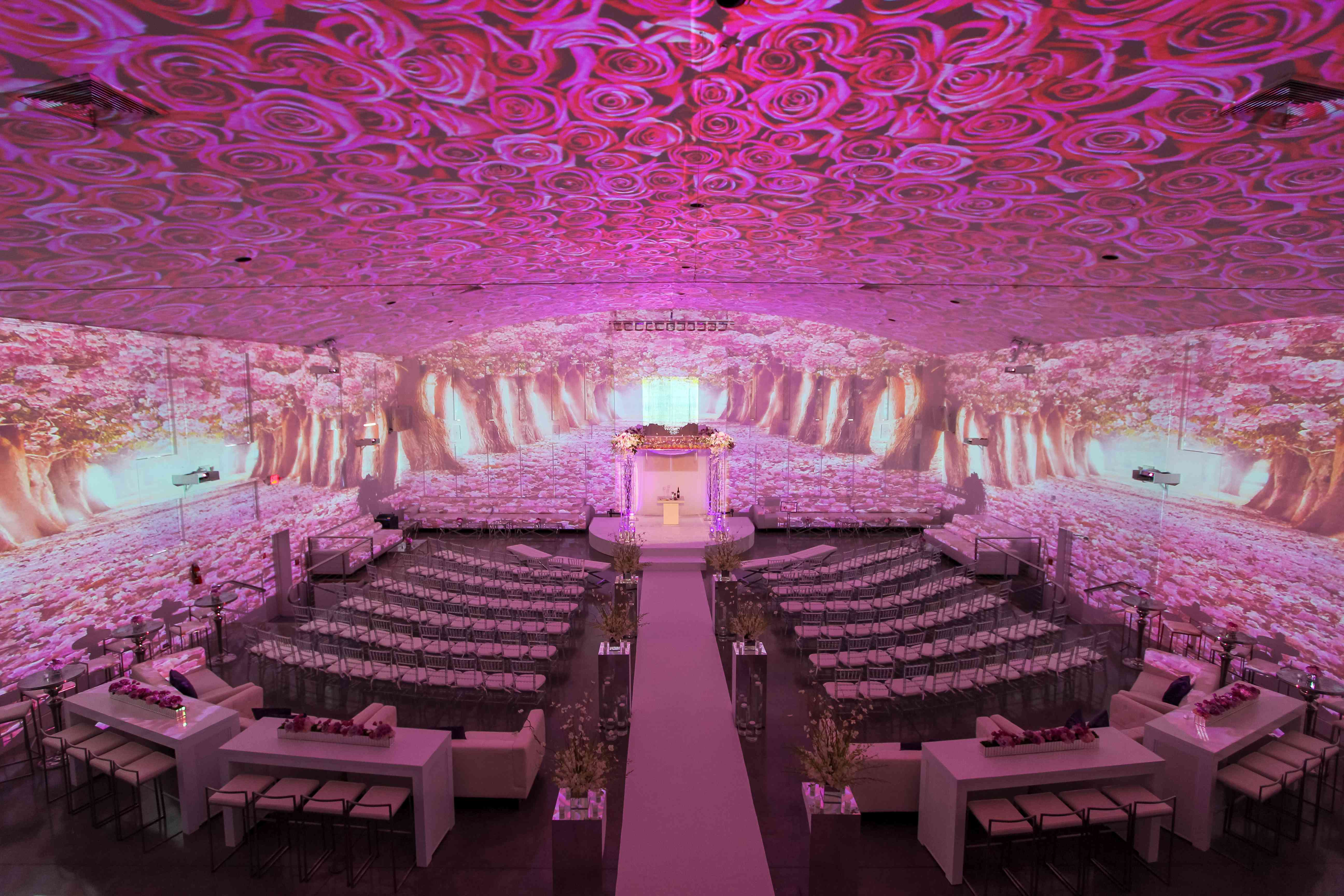 Wedding Projector Ideas That Aren T At All Cheesy