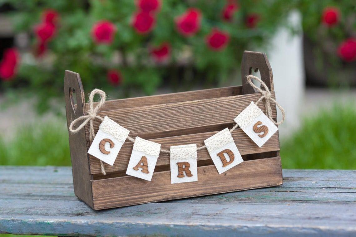 25 wedding card box ideas to stash your cash