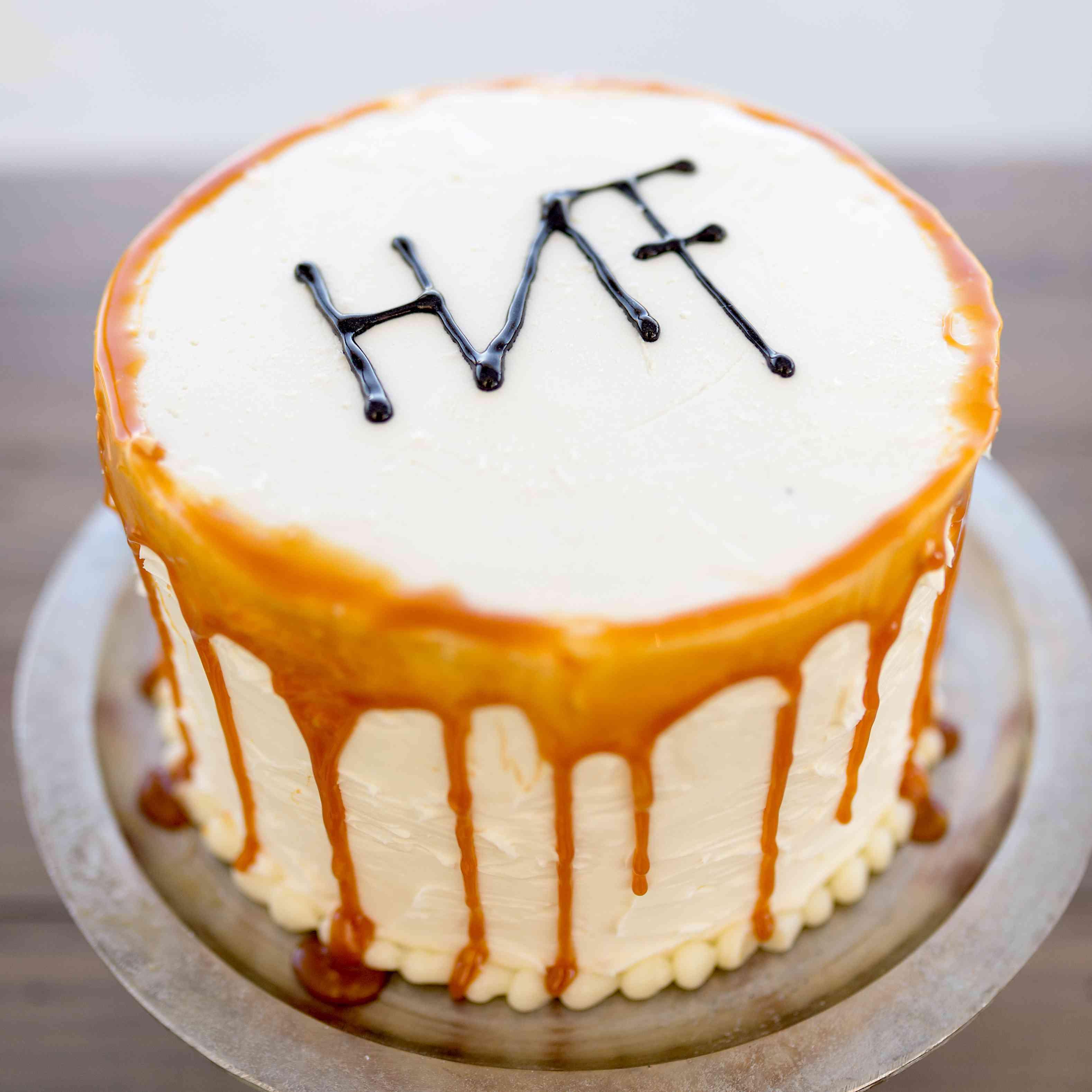 Second wedding cake