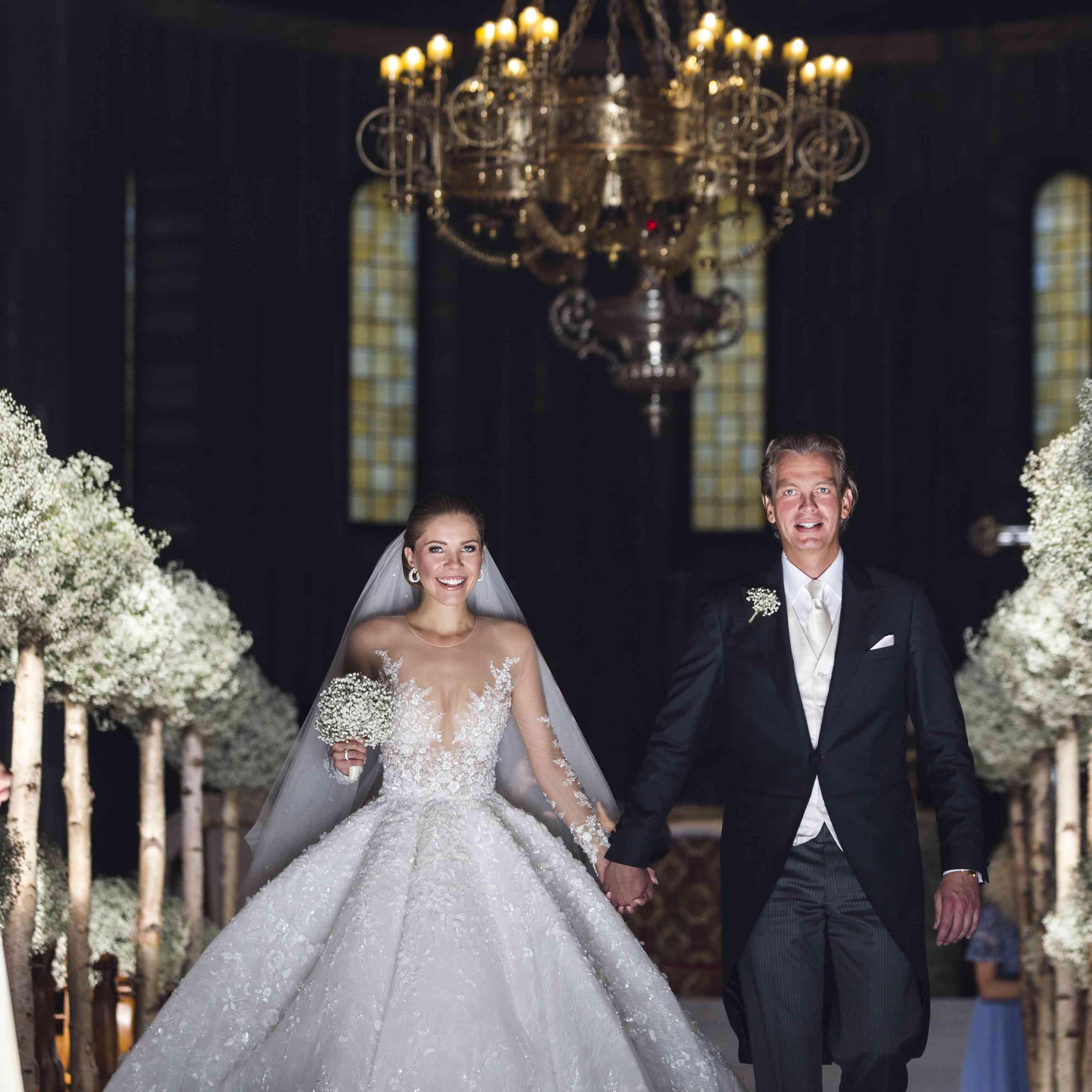 Victoria Swarovski Got Married In A Million Dollar Wedding Dress