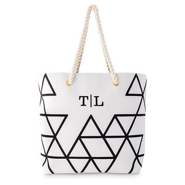Love and Luxe Handmade Personalized Tote Bag from Etsy