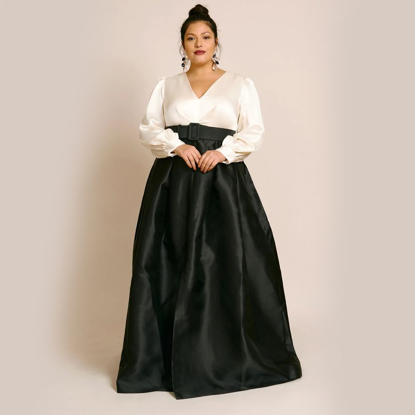 plus size mother of the groom dress