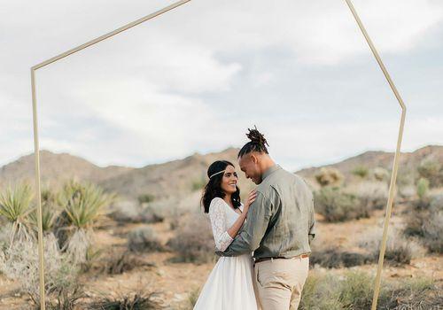 <p>Modern Wedding Ceremony Backdrop</p>