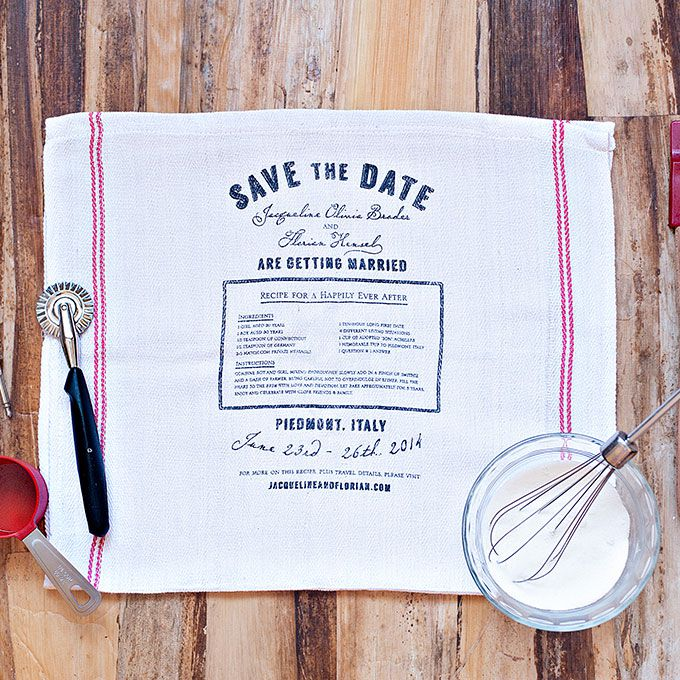 30 Creative Wedding Save The Date Ideas