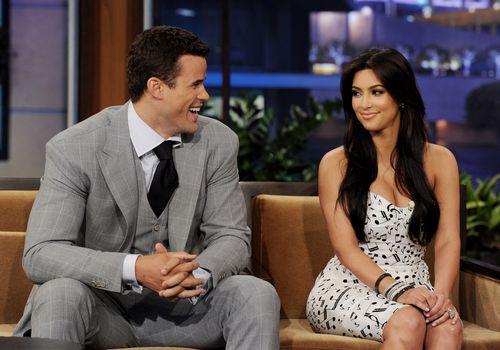 <p>Kris Humphries and Kim Kardashian</p>