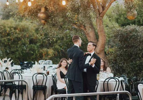 grooms dancing