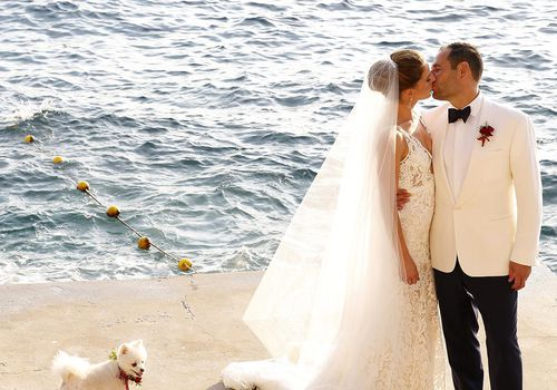 Bride and Groom on the Adriatic