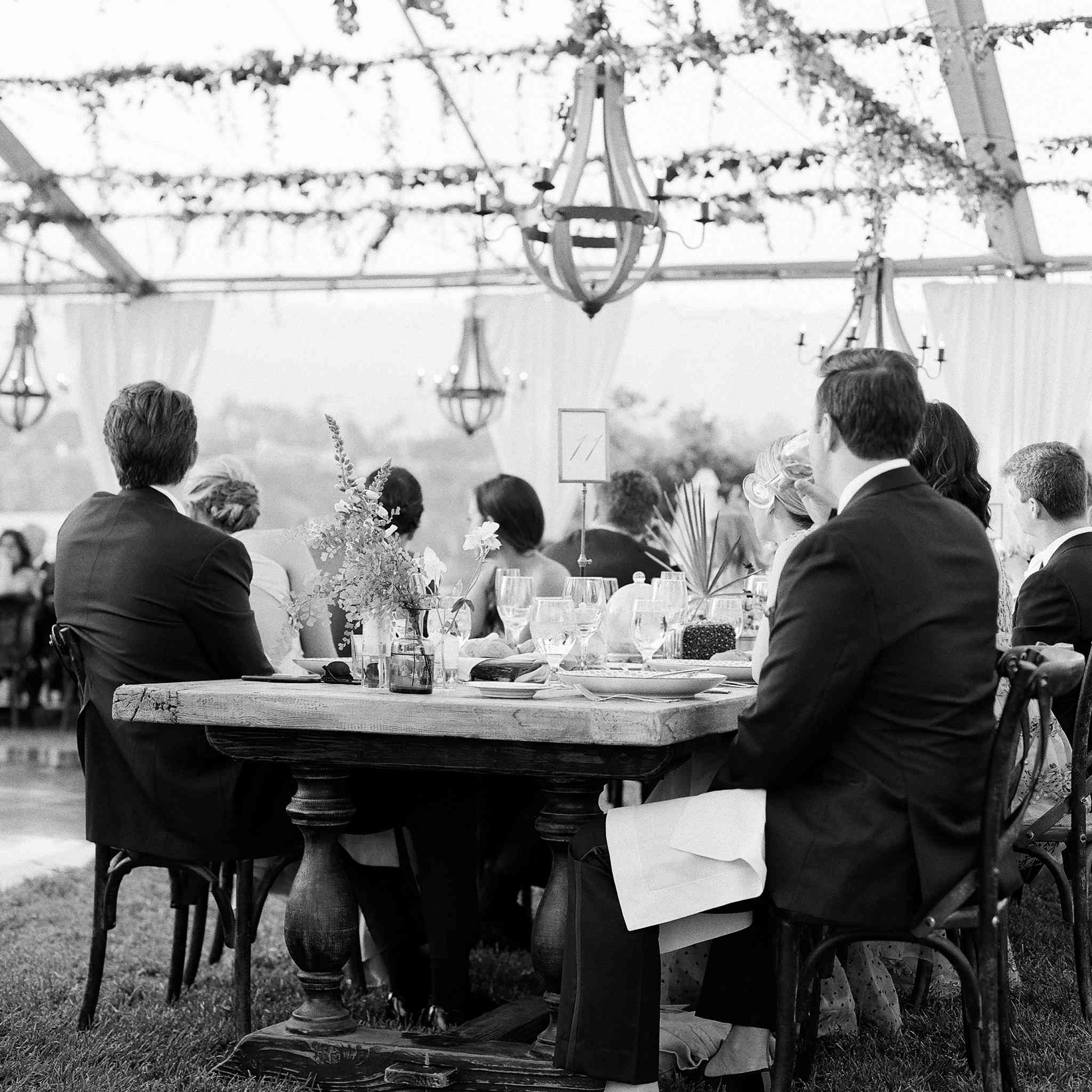Guests at reception