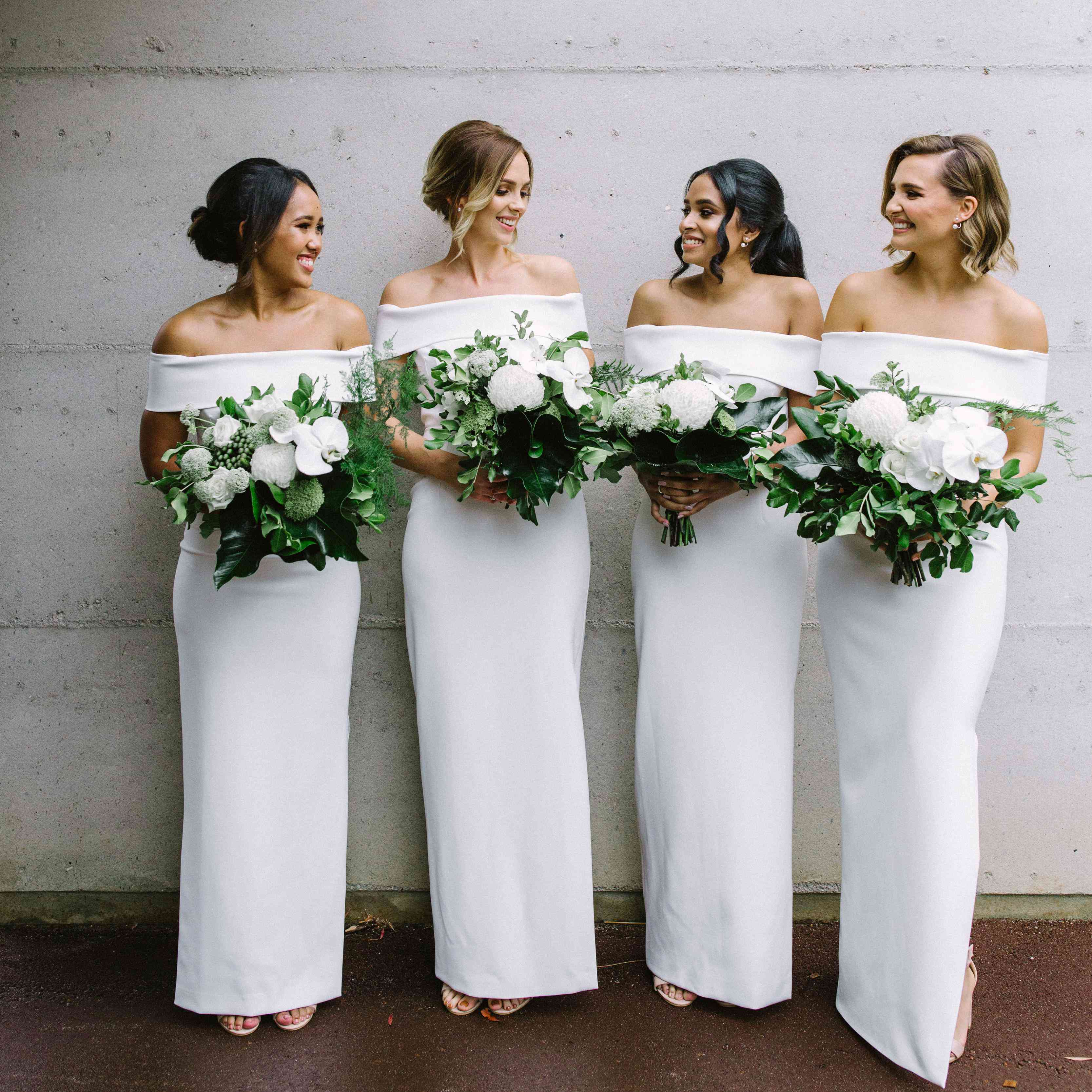 Can My Bridesmaids Wear White Dresses