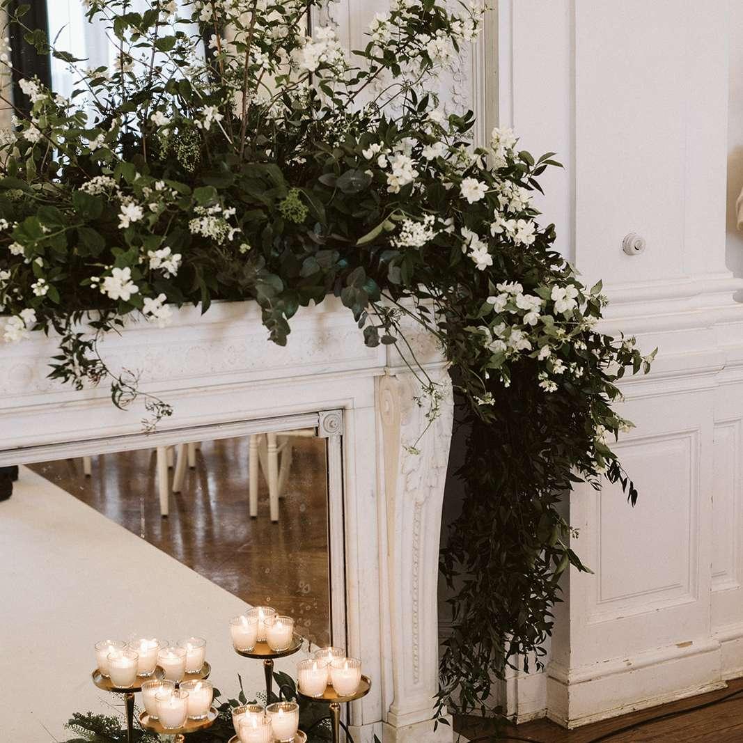 Ceremony decor detail