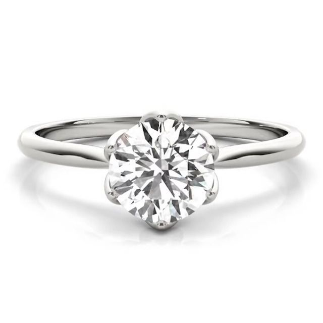 Great Heights Marseille Solitaire Diamond Engagement Ring