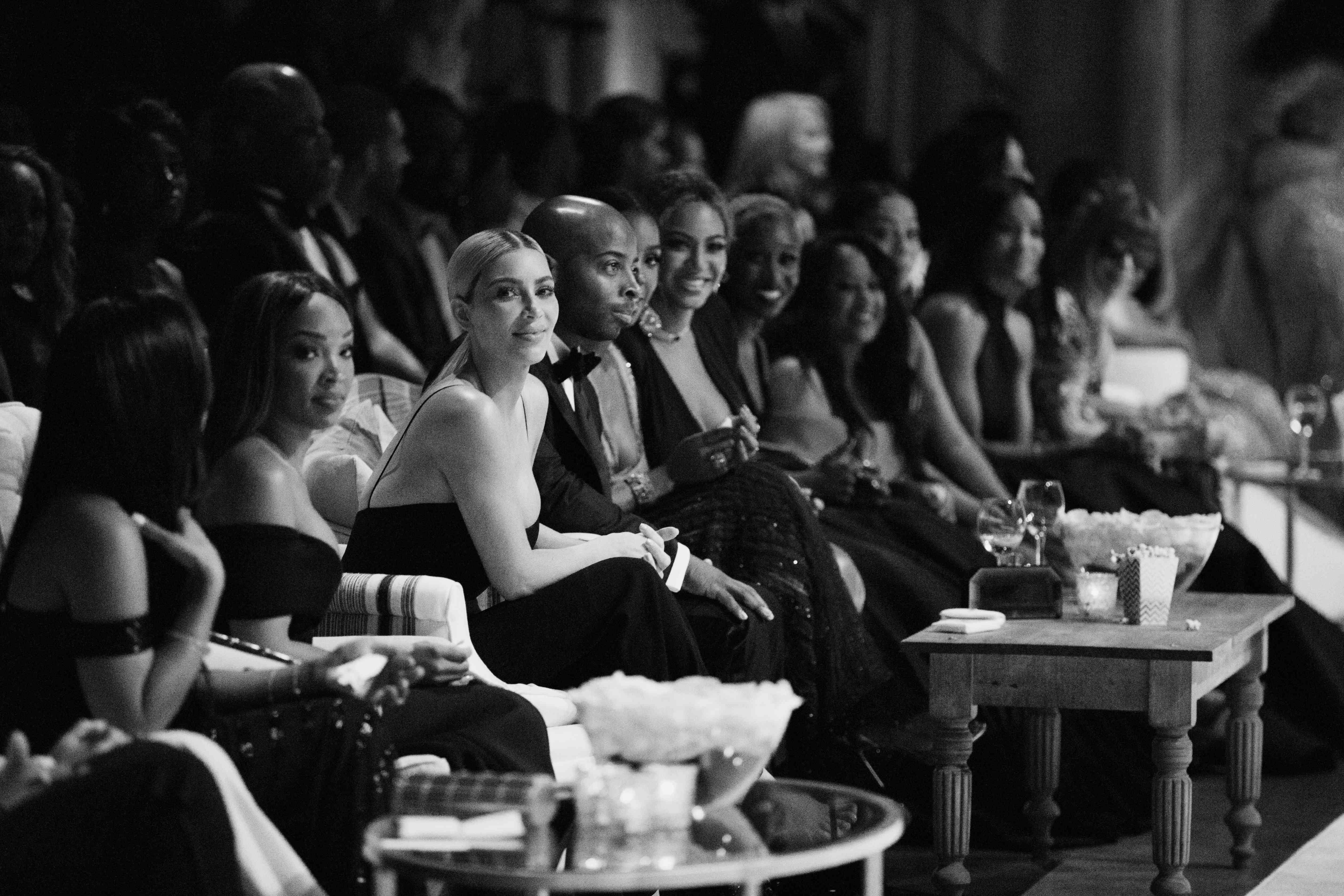 Kim Kardashian at Serena Williams and Alexis Ohanian's Wedding
