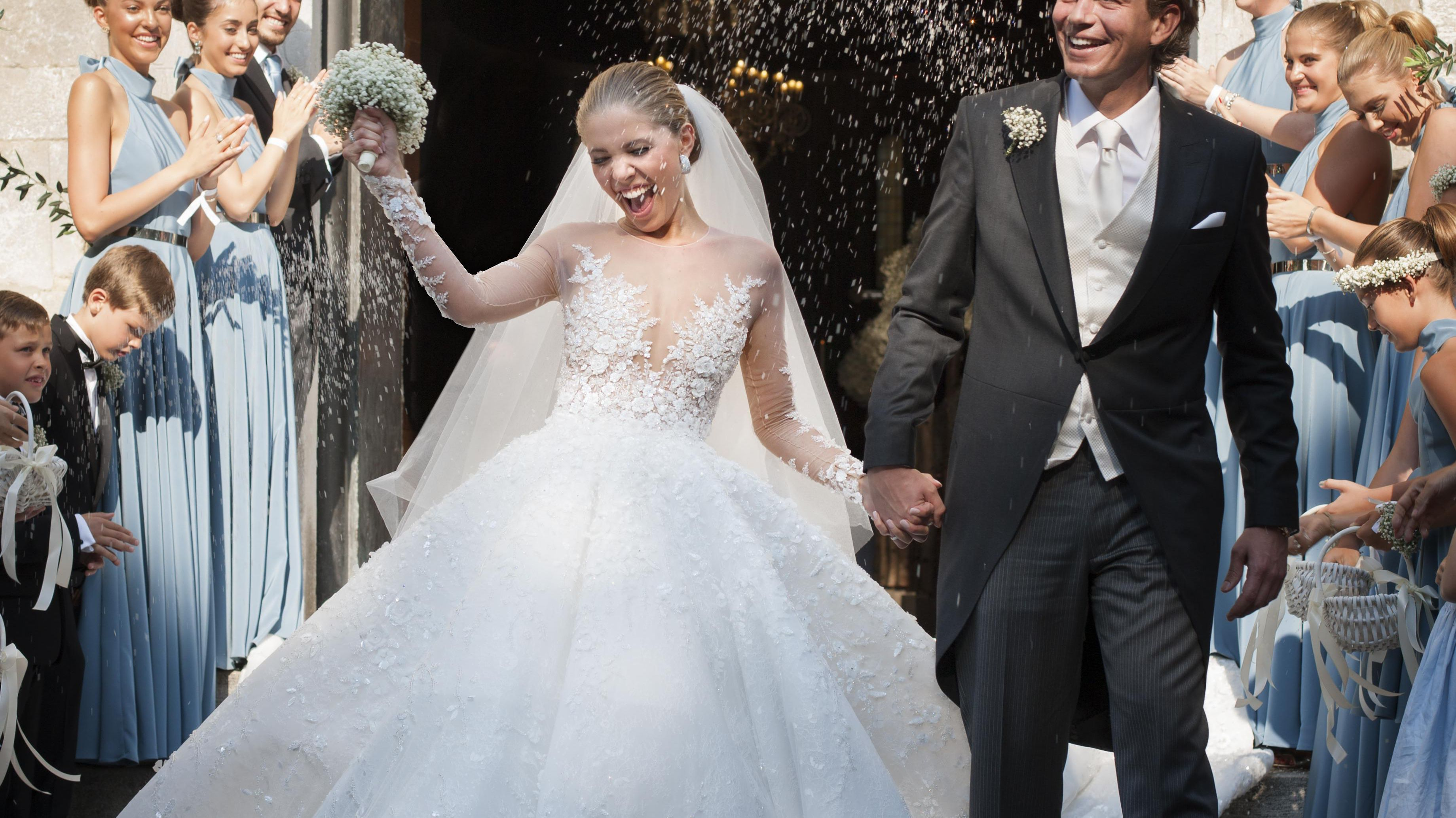 The 16 Most Expensive Celebrity Wedding Dresses Of All Time