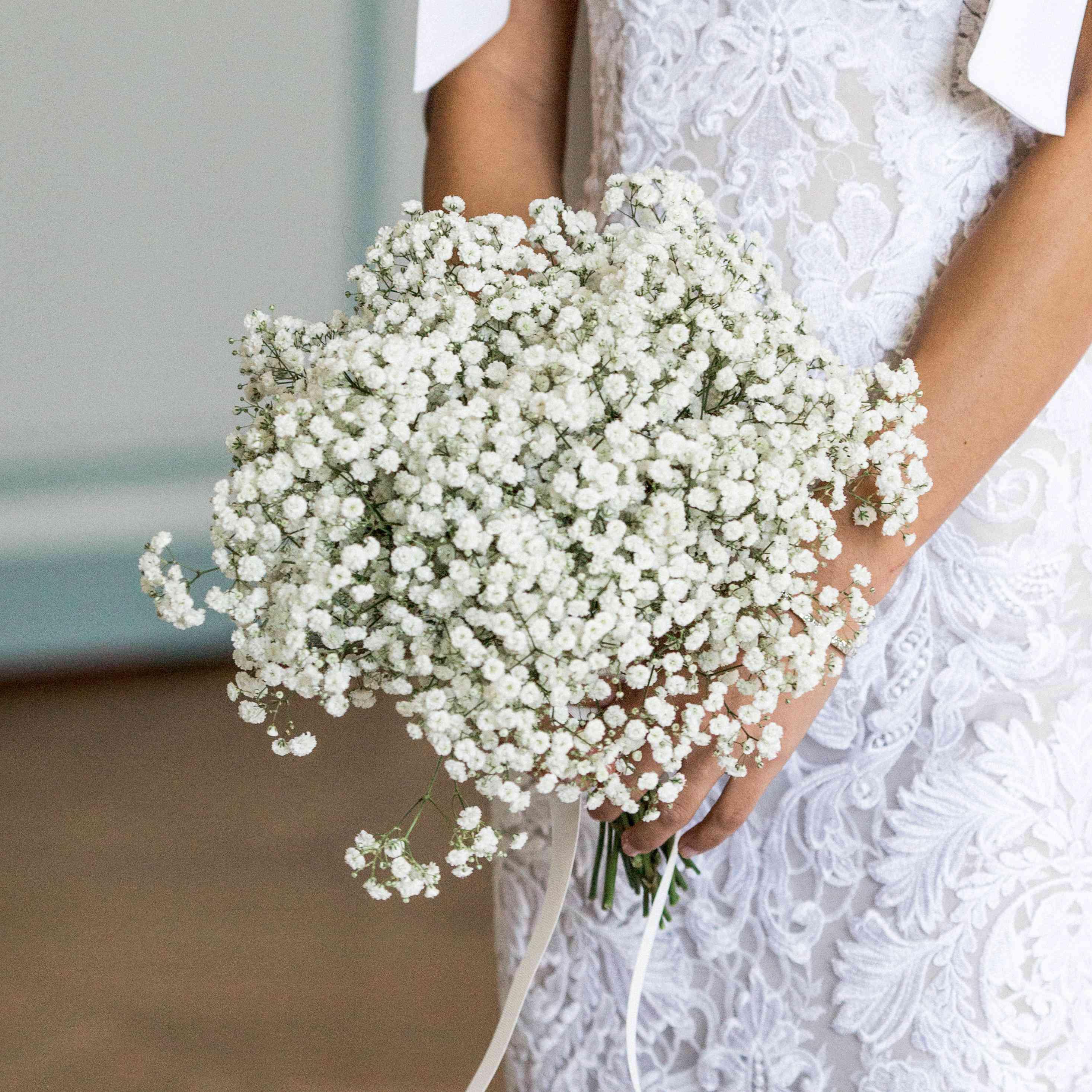 Baby Breath Flower Wedding Bouquet Best Flower Wallpaper