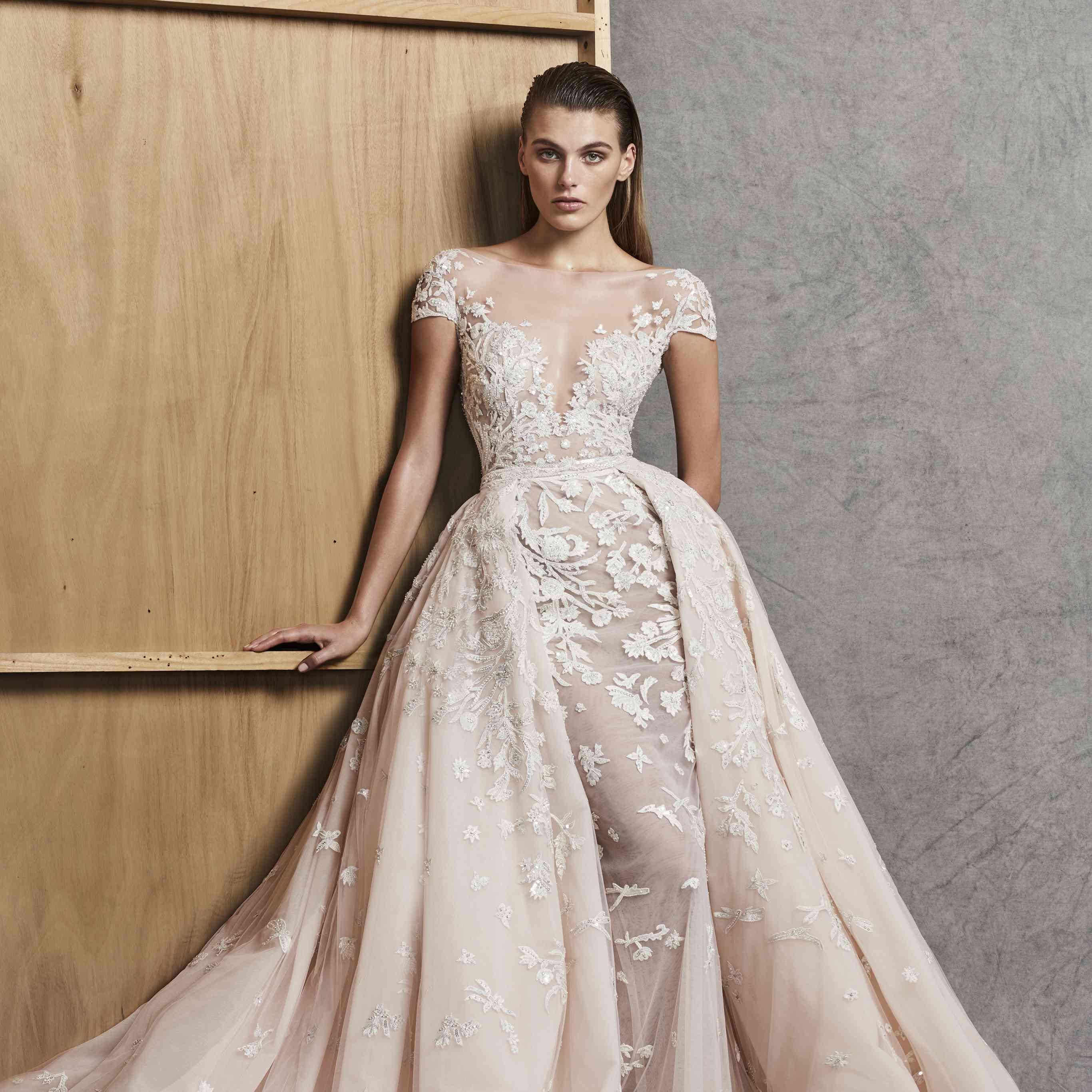 Zuhair Murad Wedding Dress.Zuhair Murad Fall 2018