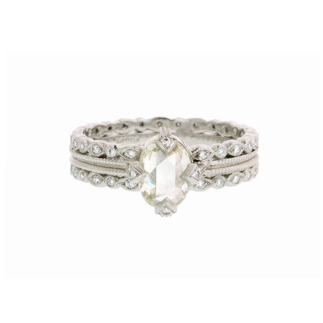 Cathy Waterman Wide Band Ring