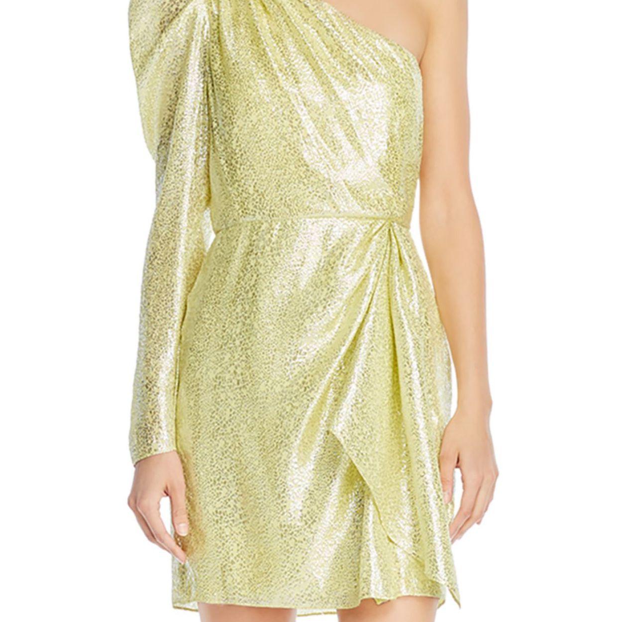 citron sparkle dress