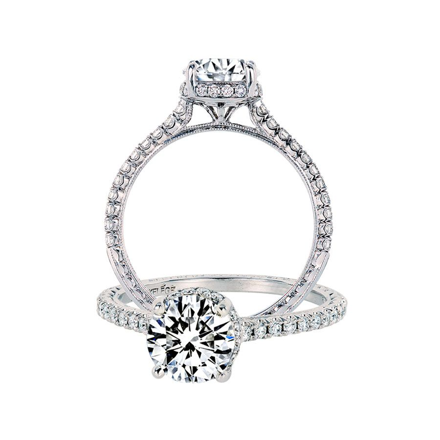 Jack Kelége White Gold Engagement Ring