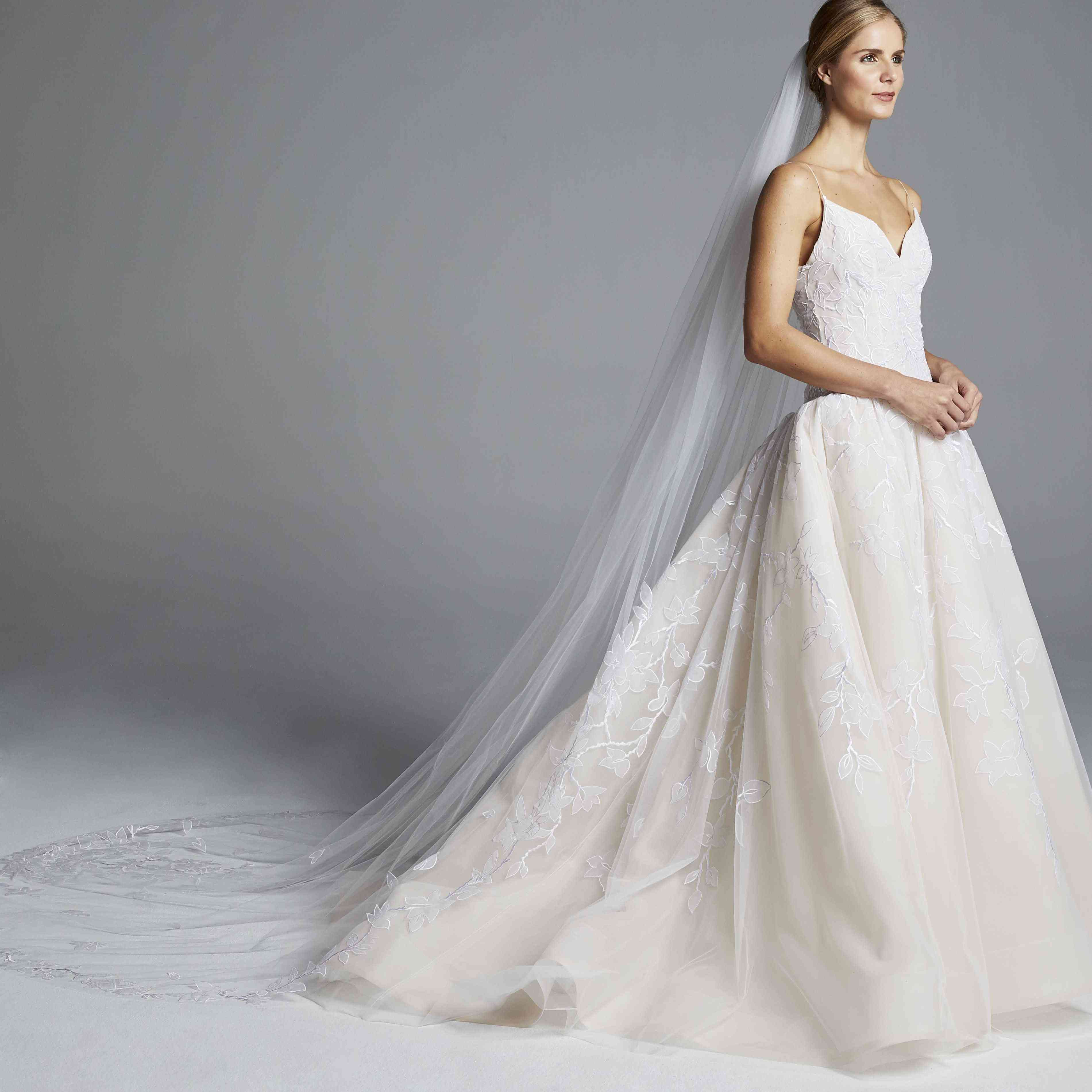 The Top Wedding Dress Trends Of 2019,Reception Indian Wedding Dress For Brides Father