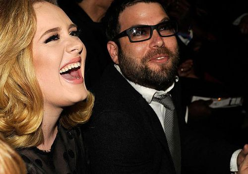 <p><p><p>Adele and Simon Konecki attend the Grammy Awards in Los Angeles.</p></p></p>