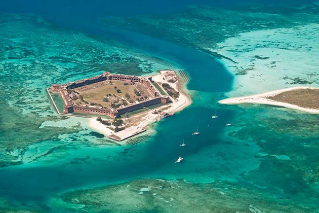 Dry Tortugas Key West Florida Honeymoon