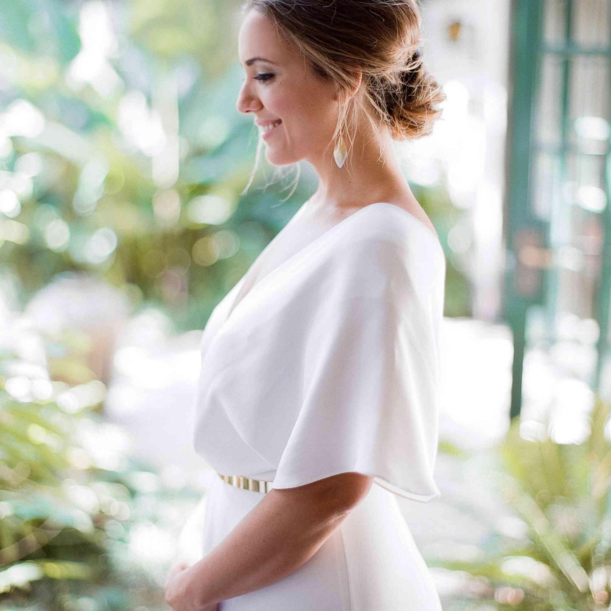Solo shot of bride