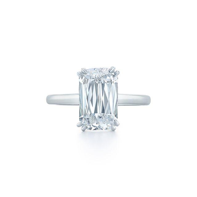 Kwait Ashoka Diamond Engagement Ring