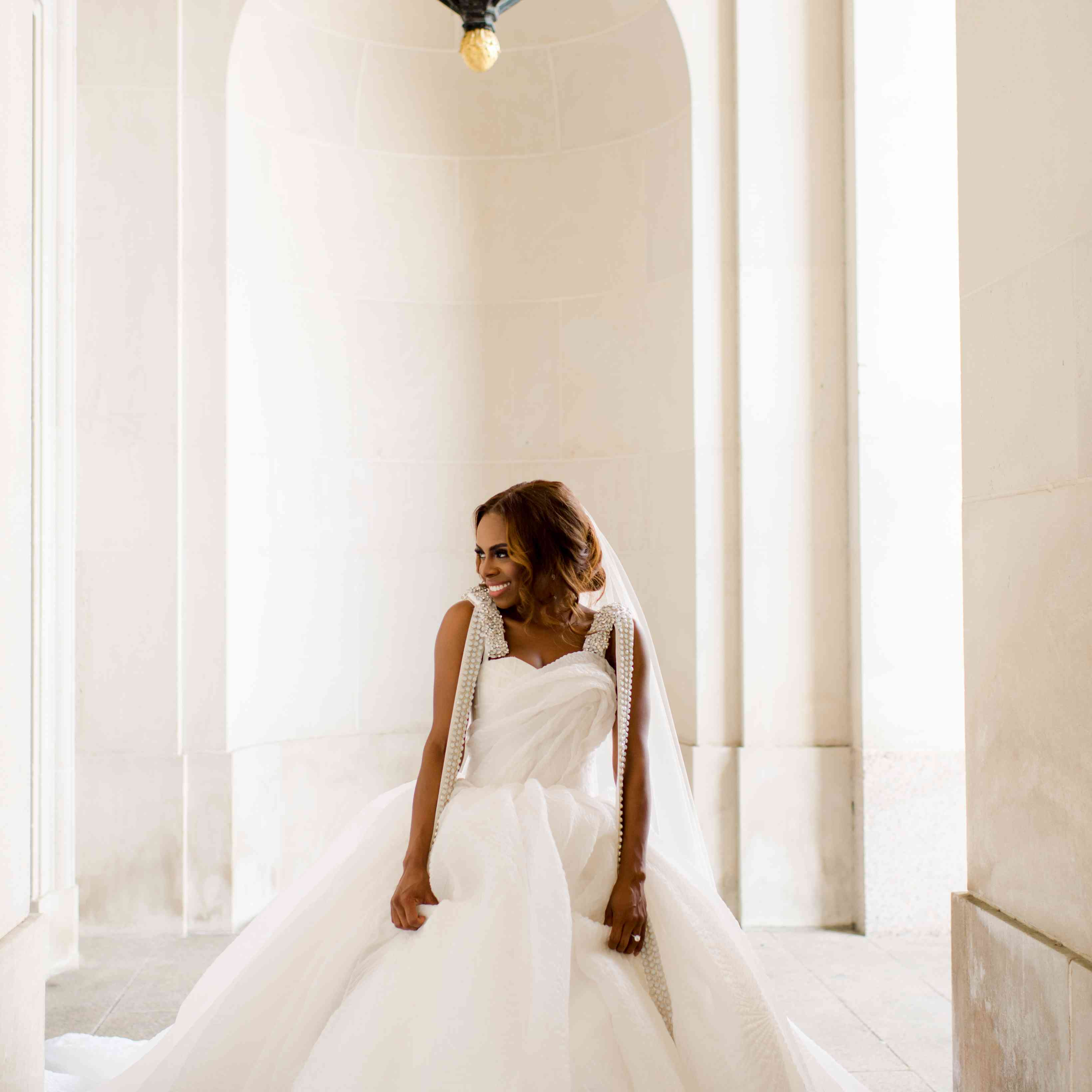 Real Housewives Of Potomac Star Candiace Dillard S Glam D C Wedding