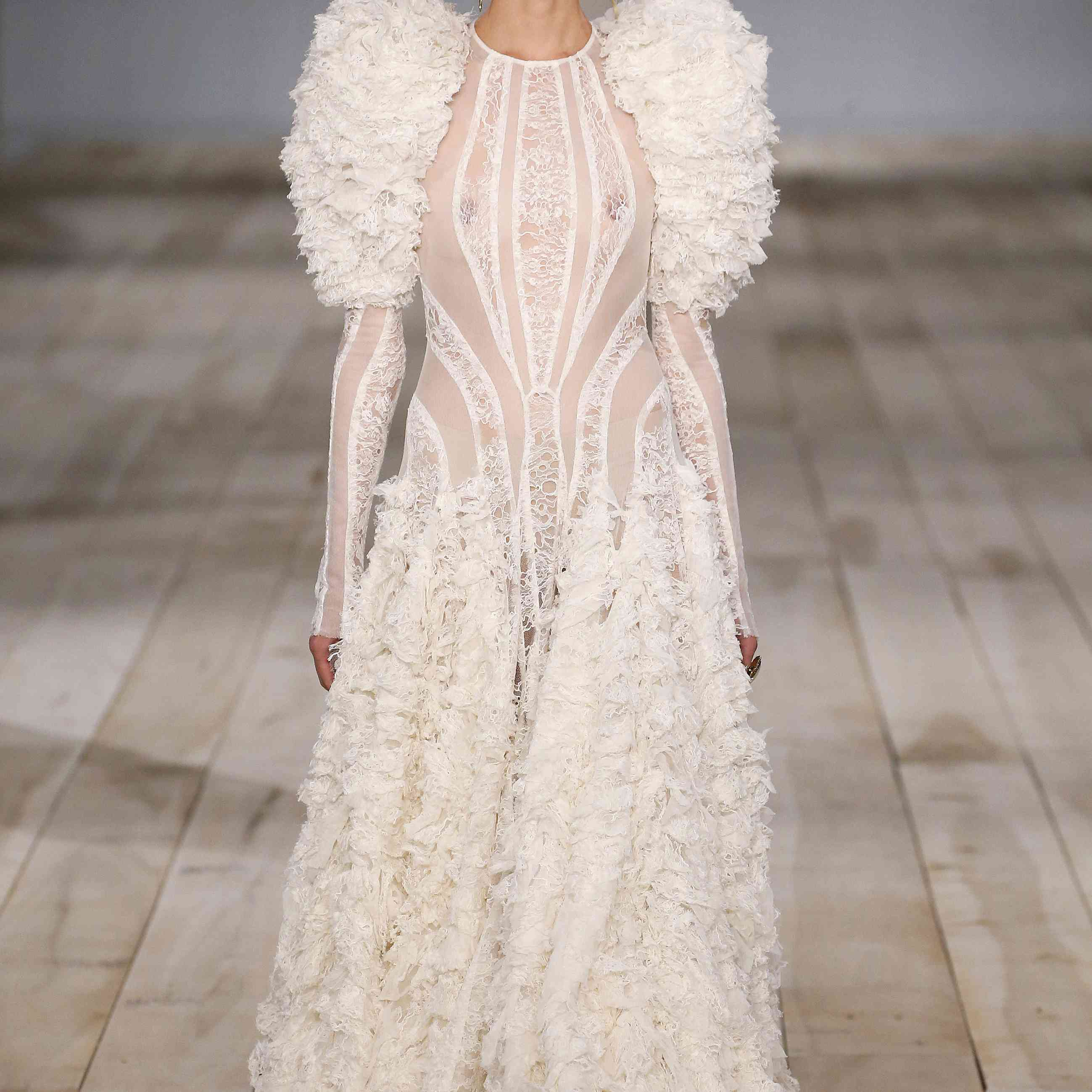 These Paris Fashion Week Looks Are So Bridal We Don't Know