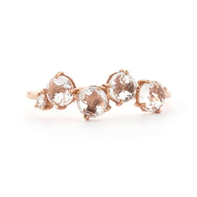 Suzanne Kalan Rose Gold Poppy Ring