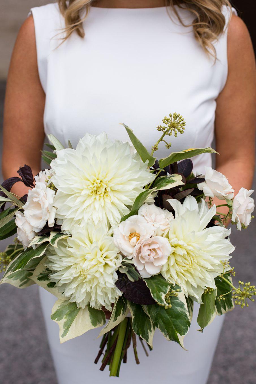 Bridesmaids bouquet detail