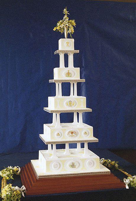 Sarah Ferguson and Prince Andrew's wedding cake