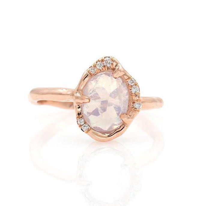 Circiam Shimmering Moonstone Ring