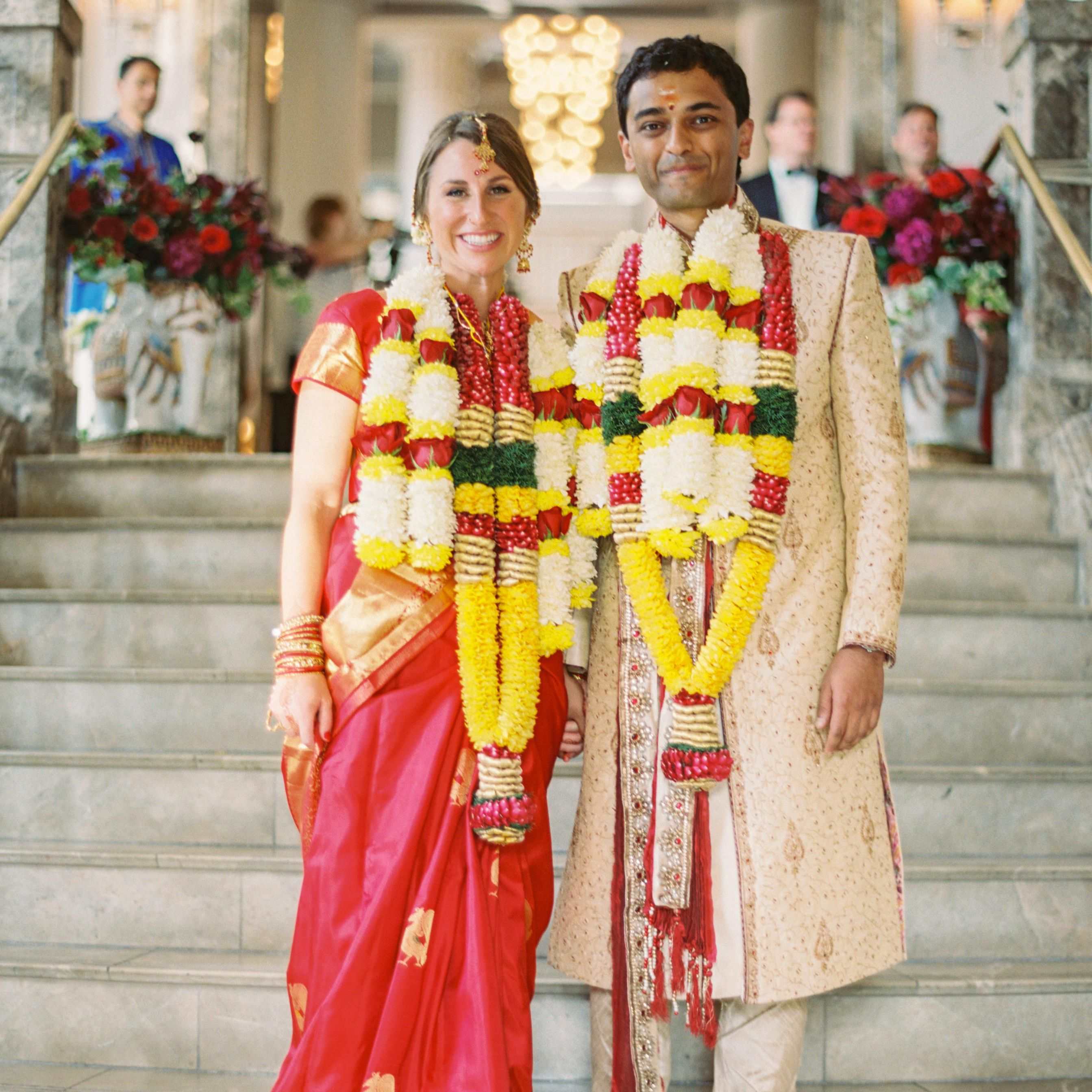 See How This Couple Hosted Both A Hindu And Christian Ceremony In Just One Day