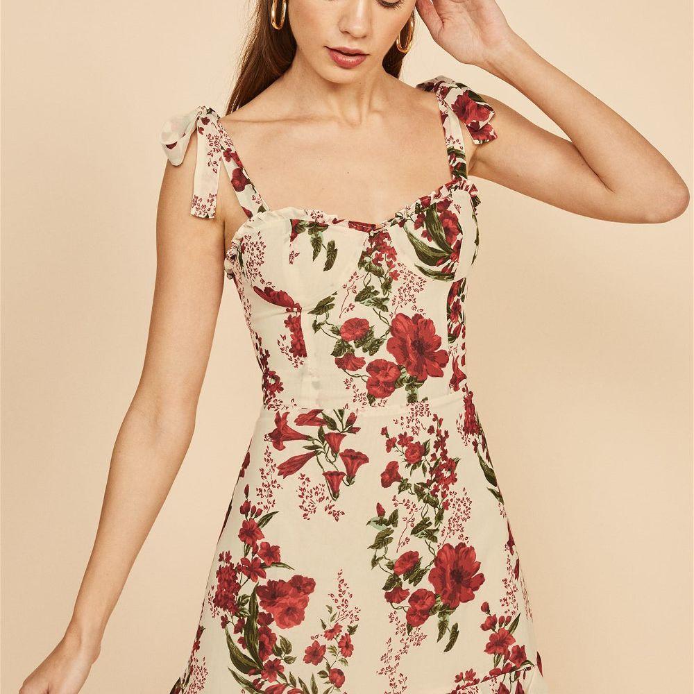 Reformation Floral Mini Dress