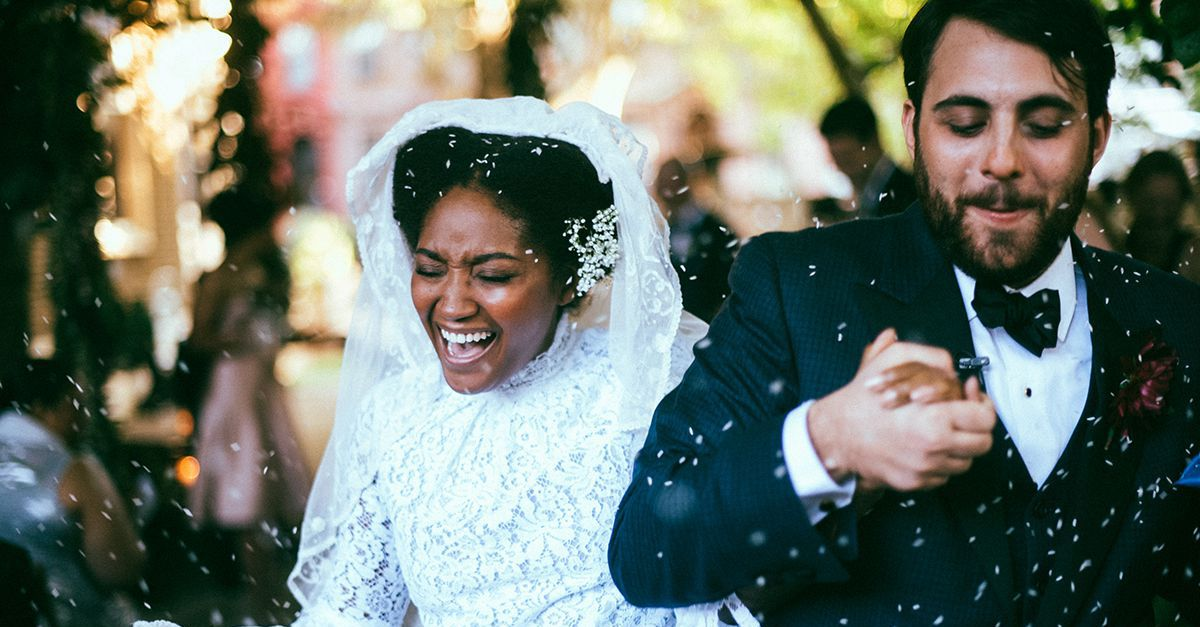 Throwing Rice explained:  British Wedding Traditions