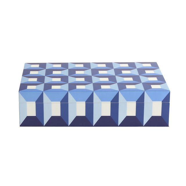Jonathan Adler Large Sorrento Lacquer Box