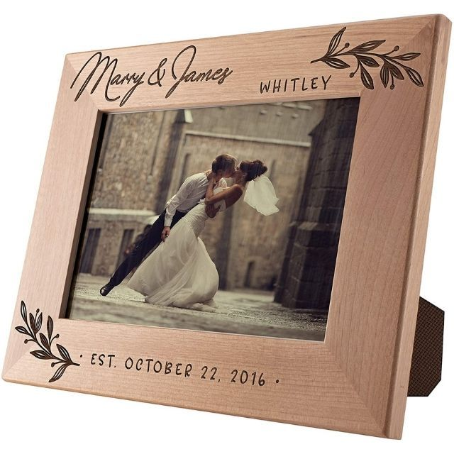 Amazon Personalized Wedding Picture Frame