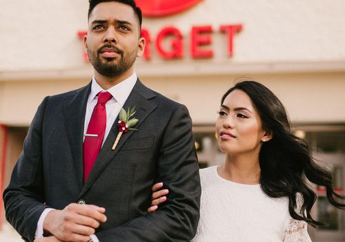 This Target Wedding Photo Shoot Is The Best Thing You Ll See All Day